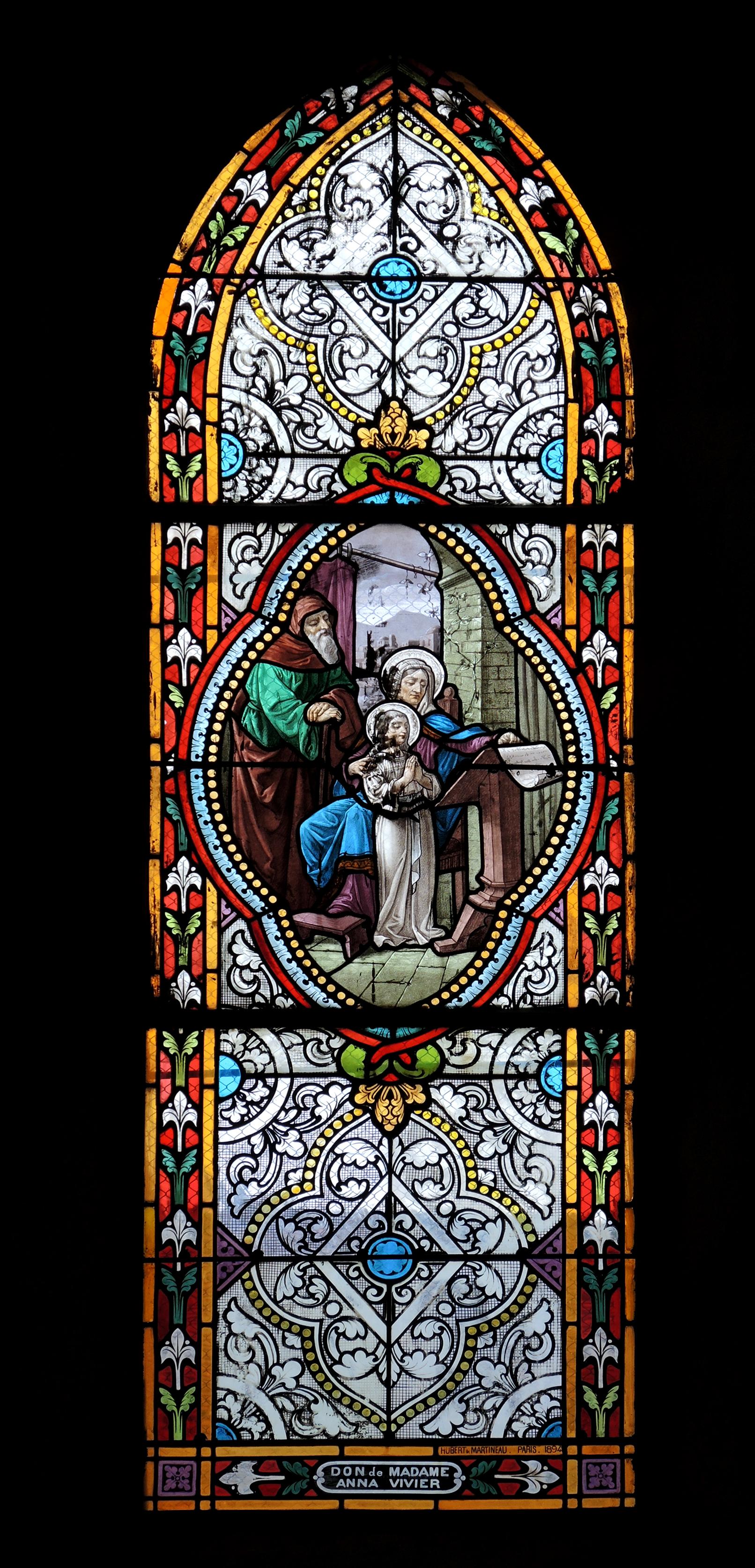 Don d'Anne Vivier (1894)  et de Paul Vivier (1900). (Collection SHCB)