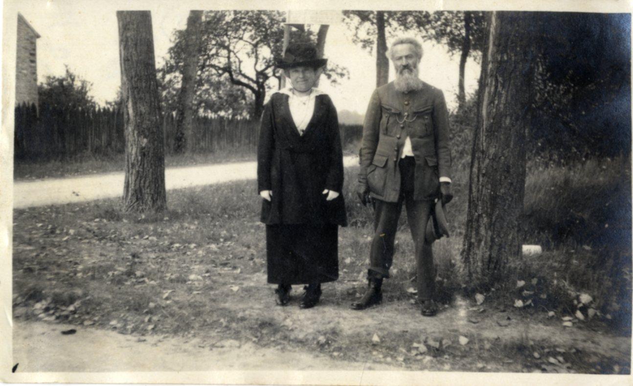 Paul et Anne Vivier (Don famille Pierre-Velluet)