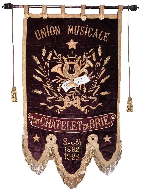 Bannière de la Fanfare du Châtelet (Collection SHCB)
