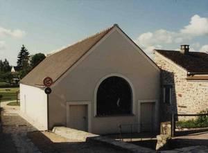 Façade du lavoir après la restauration de 1990 (Collection SHCB)