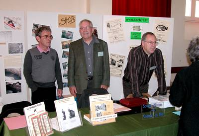 De gauche à droite: André Mary, Jean-Jacques Pipaud, Jacky Breuillé. (Photo SHCB)