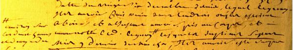 (Archives départementales de Seine-et-Marne cote: B94)