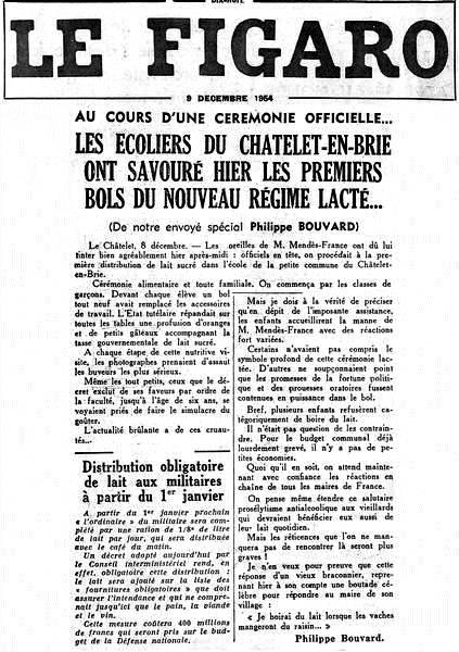 Le Figaro - 9 décembre 1954