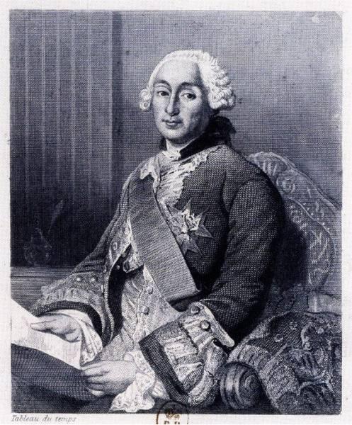Portrait de César Gabriel de Choiseul