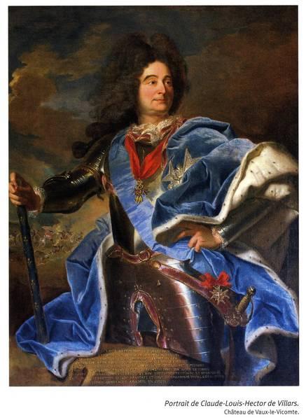 Portrait de Claude Louis Hector de Villars (Château de Vaux-Le-Vicomte)