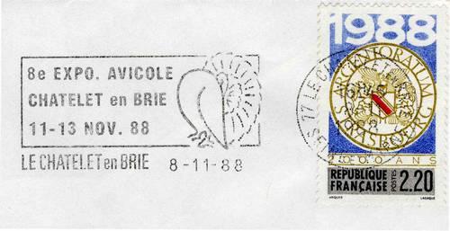 Flammes récentes du Châtelet-en-Brie (Collection SHCB)