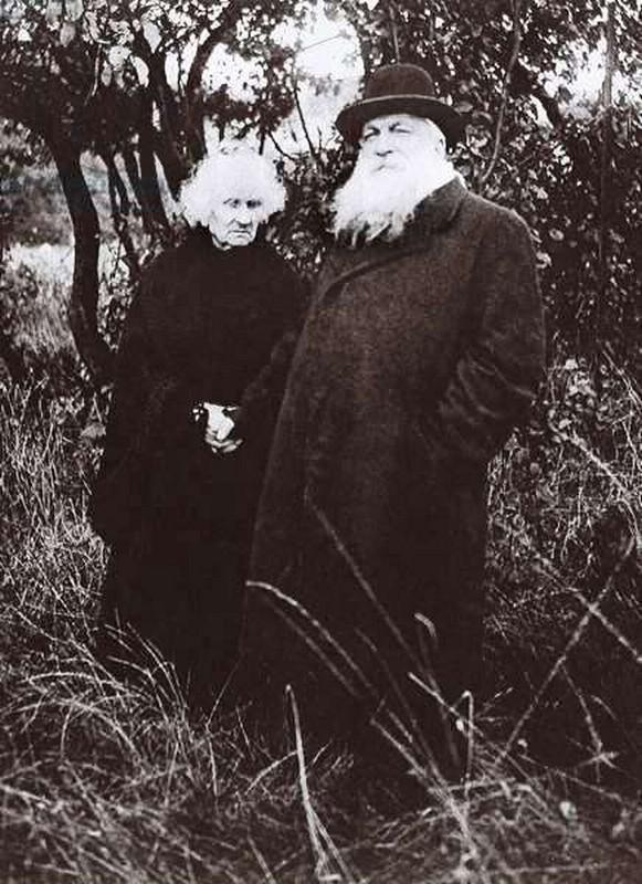 Auguste Rodin et Rose Beuret (L'Illustration magazine 1916)