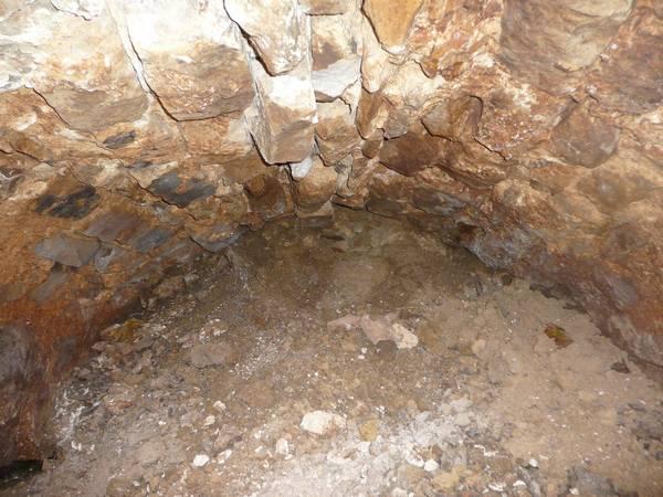 Tunnel d'amenée, vue côté ouest (photo SHCB)