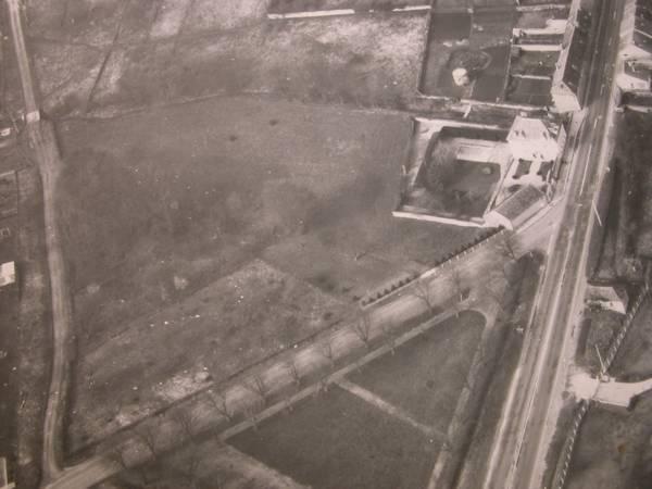 Vue aérienne de 1970 (Collection SHCB)