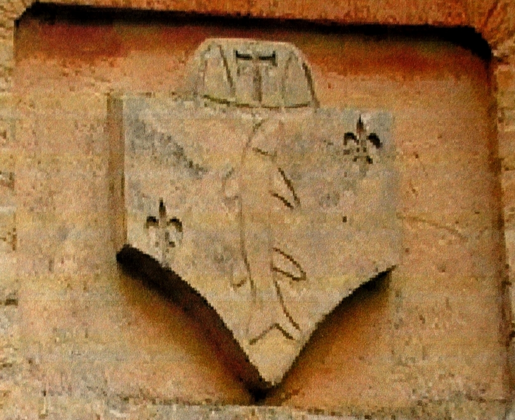 Blason des dames de Poissy. (Collection SHCB).