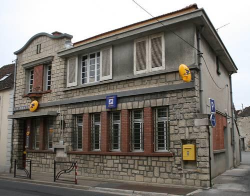 Bureau de poste actuel avant rénovation (Collection SHCB).