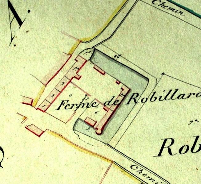 Plans de 1812 (Archives communales)