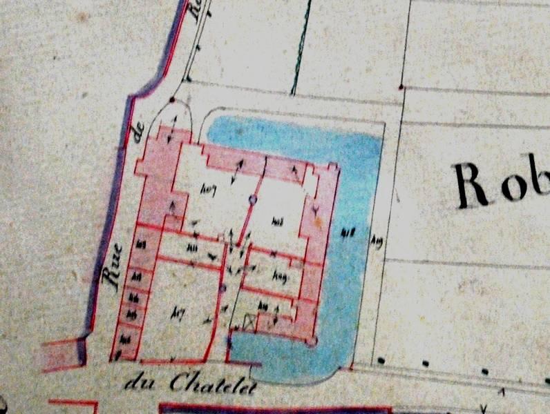 Plan de 1845 (Archives communales)