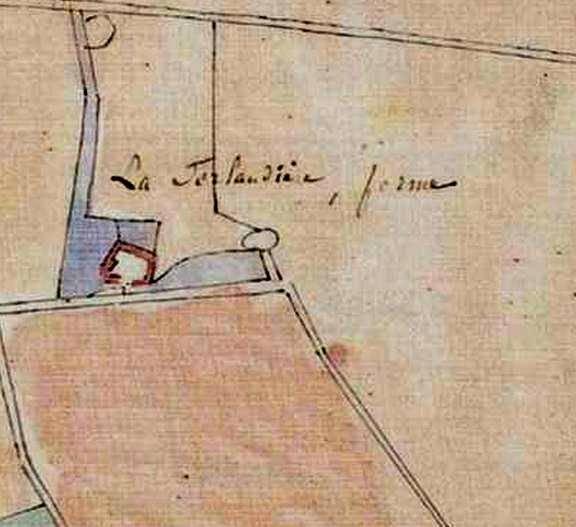 Plan cadastral napoléonien (AD cote 4P/36/376)