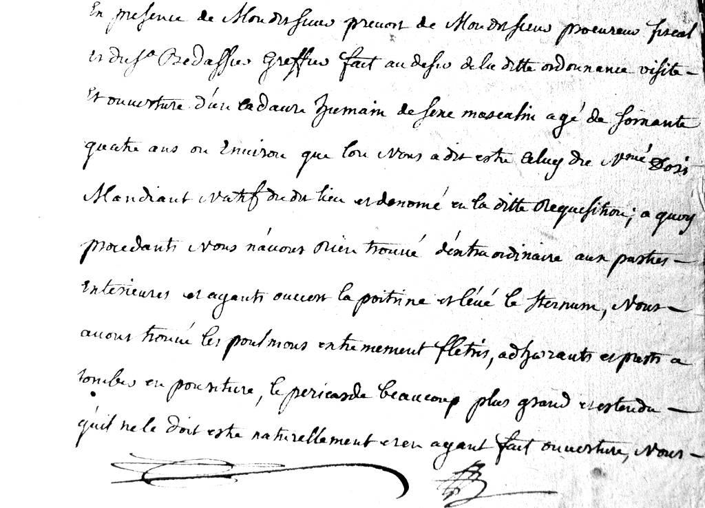 (Archives Départementales de Seine-et-Marne Cote : B94)
