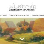 Site Internet : Mémoires de Blandy