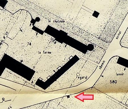 Plan du château des Dames